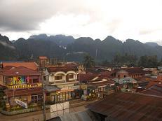 vang, vieng town laos