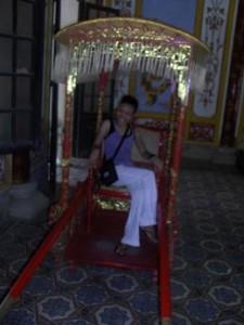Forbidden Purple City in Hue, Vietnam