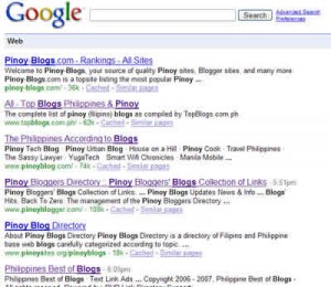 Pinoy Bloggers Making a Mark