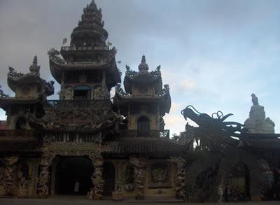 Linh Phuoc Pagoda in Da Lat