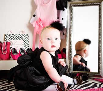 Baby's High Heel Shoes?! WT??!!