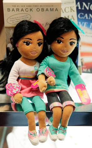 Michelle Obama Didn't Like Daughters' Dolls Idea