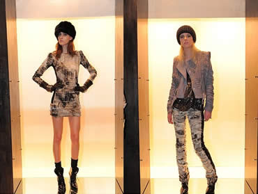 Just Cavalli Fall 2009 Rugged Look