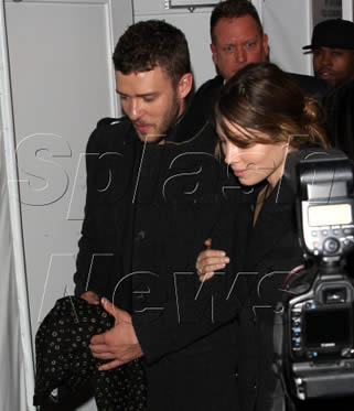 Jessica Biel and Justin Timberlake Splitting