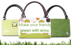 Green,Smart and Fashionable Eco-Handbags