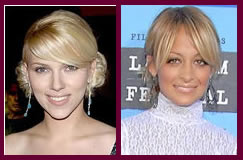 Fringed Tie Hairstyle