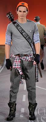 Men's Fashion Trends for 2009:MICHAEL BASTIAN