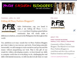 Pinoy Fashion Bloggers to Unite