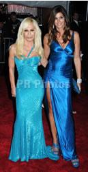 Cindy Crawford and Donatella