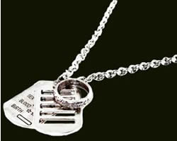Sterling Silver Jewelry:DOG TAG