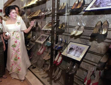 Former First Lady Imelda Marcos - Philippine Shoe Icon