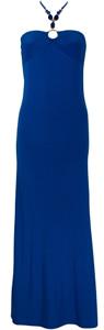 Chic Trendy Blue Maxi