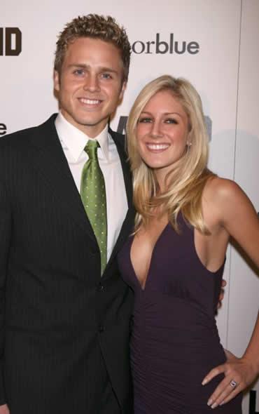 Spencer Pratt and Heidi Montag on