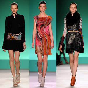 Matthew Williamson's Fall 2010 - London Fashion Weel