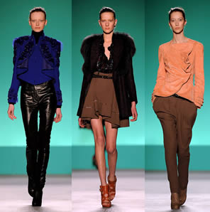 Matthew Williamson's Fall 2010 - London Fashion Week