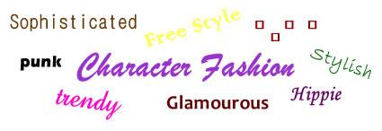 character fashion