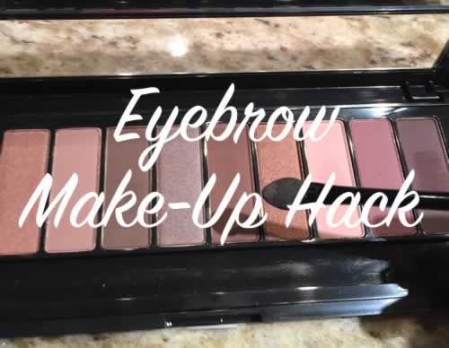 Eyebrow Make Up Hack