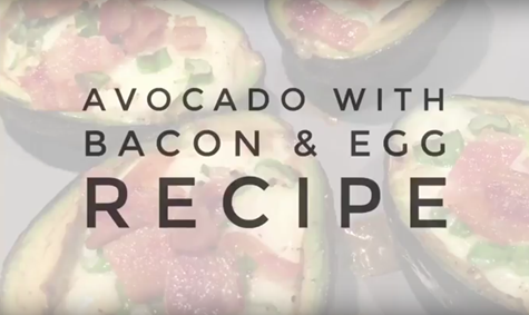 Baked Avocado with Egg and Bacon Recipe